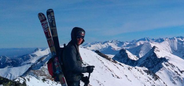 Pišta Dobrucký a 3 pekné skialpové zjazdy