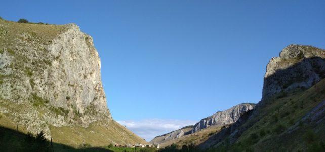 Na skalách a horách v Rumunsku