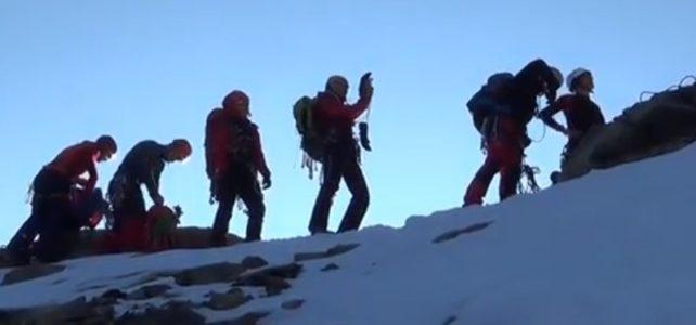 Vlado Vričan s kamerou v horách 2017